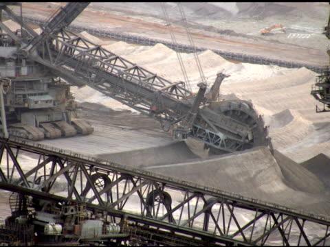 ntsc :面鉱山 - 石炭点の映像素材/bロール