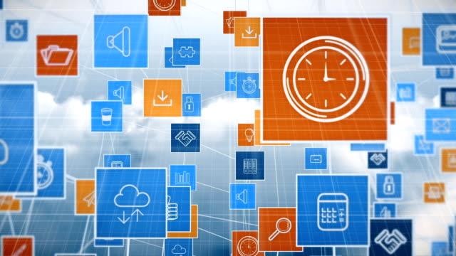 Numeric applications agaisnt cloudy sky