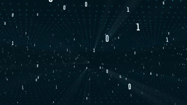 vídeos de stock, filmes e b-roll de 4k numerical grid, algoritmo duo, código de dados, decodificação e codificação - código binário
