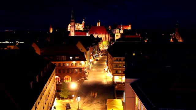 Nuremberg at night video