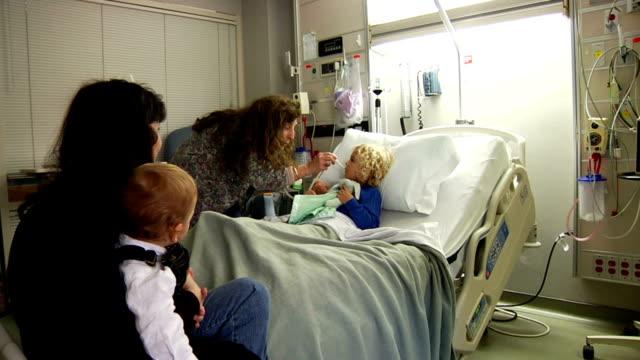 Nurse Checking Temperature video