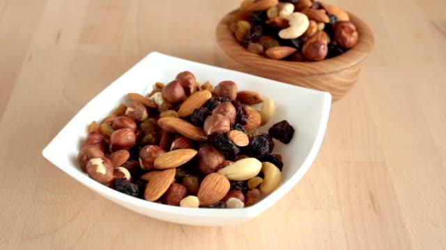 nut. - nuts 個影片檔及 b 捲影像