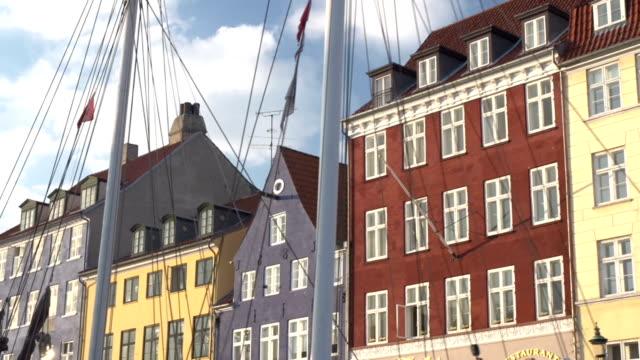 Nyhavn in Copenhagen - From the boat view video