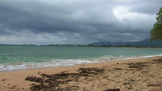 Oahu surf 3 - HD 30F  oceania stock videos & royalty-free footage