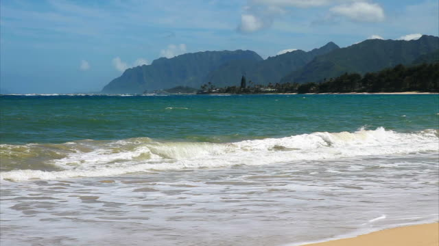 Oahu windward coast views HD video