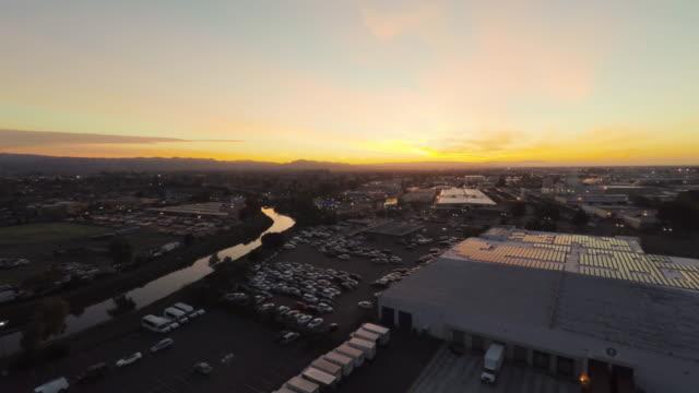 Oakland Sunrise Aerial video