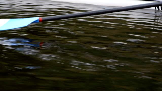 stockvideo's en b-roll-footage met oar in het water - paddle