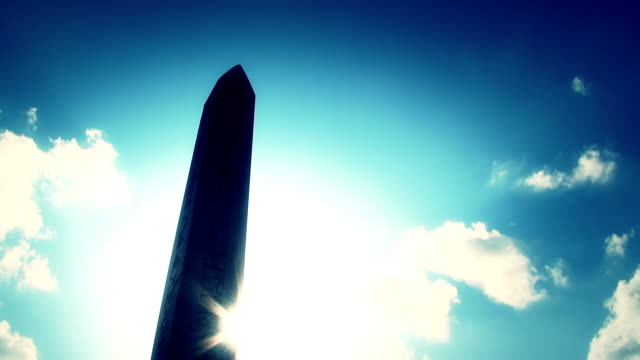 obelisk in istanbul - obelisk stok videoları ve detay görüntü çekimi