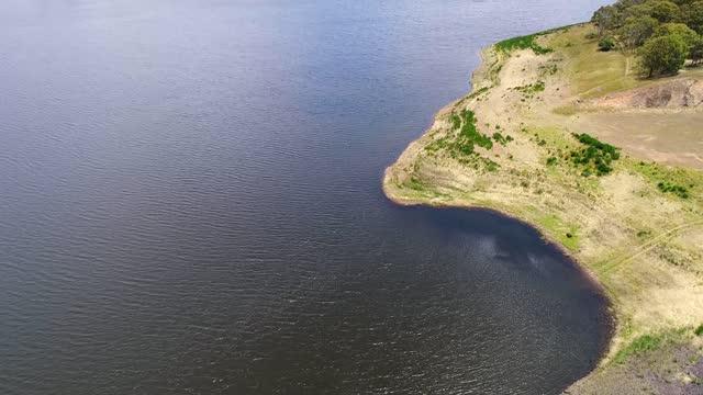 bm 오베론 댐 다이아그 업 - larry king 스톡 비디오 및 b-롤 화면