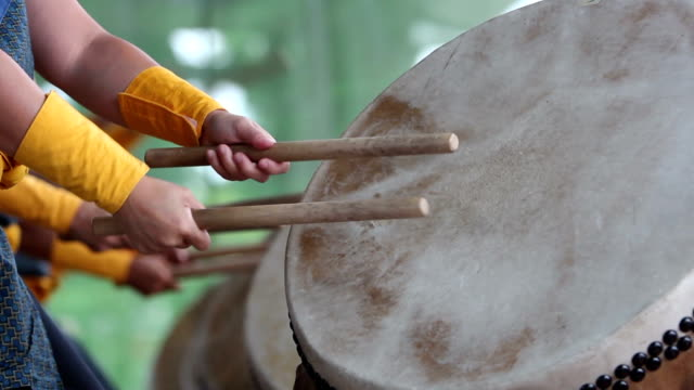 Obon Festival Taiko Detail no Sound video