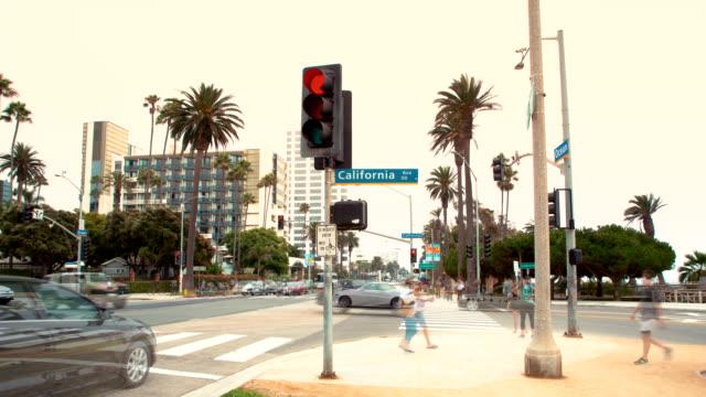 Ocean Ave and California Ave Intersection, Santa Monica