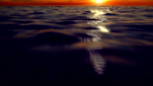 Ocean fly-through video