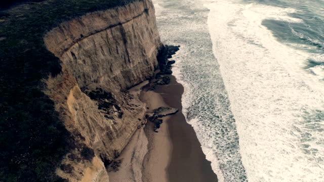 Ocean Pacific Ocean. California sepia toned stock videos & royalty-free footage