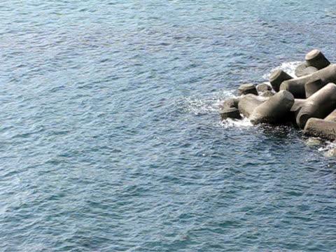 ocean waves - 10 saniyeden daha kısa stok videoları ve detay görüntü çekimi