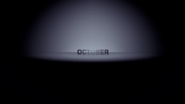 October Month Horizon Zoom video