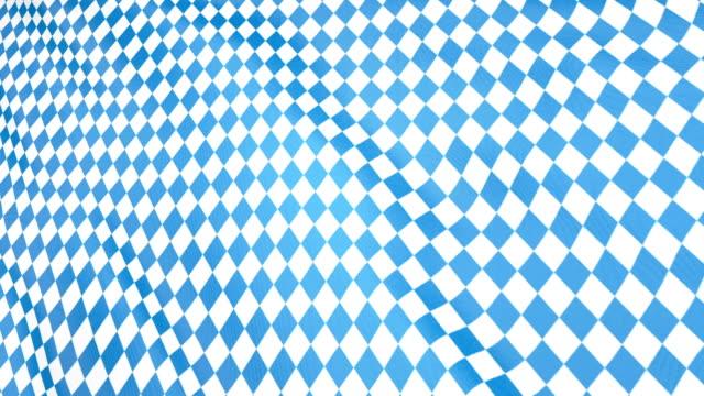 vídeos y material grabado en eventos de stock de octubre patrón de bandera bávara. fondo del festival de octubre munich. rhomb octoberfest adorno azul - oktoberfest