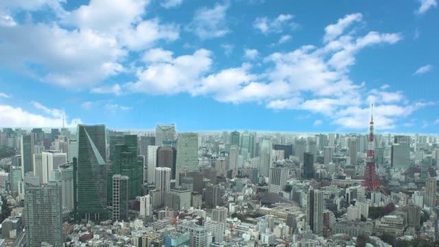 vidéos et rushes de cityscape de tokyo. - culture japonaise