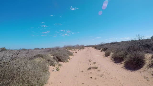 off road driving through the western australia outback. - western australia stock videos & royalty-free footage