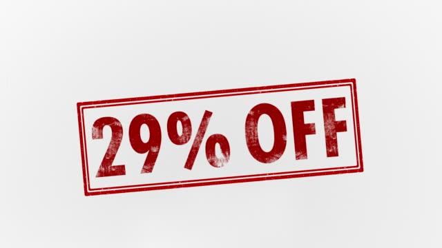 29% off