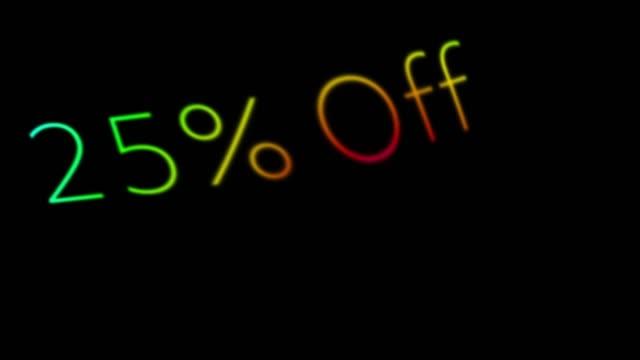 25% off - zahl 25 stock-videos und b-roll-filmmaterial
