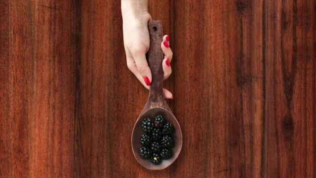 Offering blackberries video