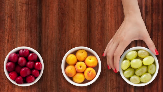 Offering fruits