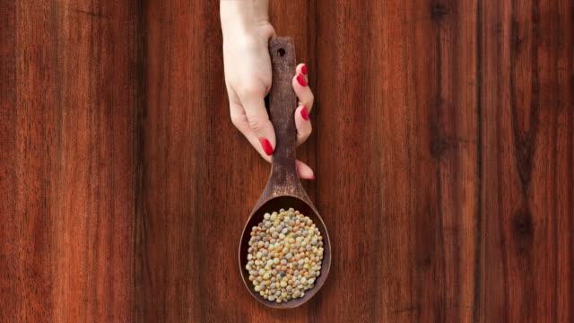 Offering lentils mix video