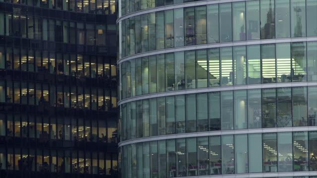 Office Block at Night-25 video