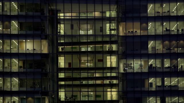 Office Block at Night-39 video