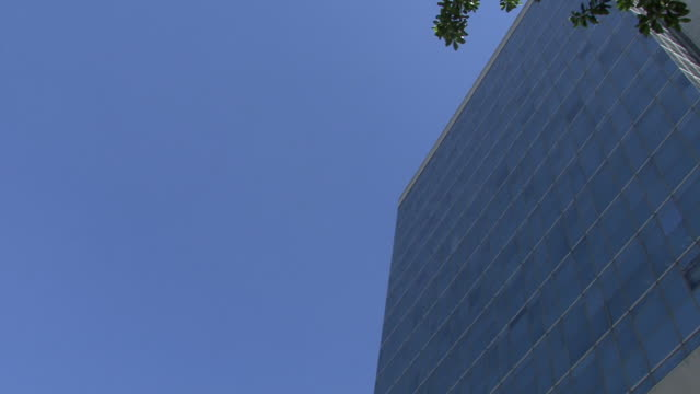 Office building 1 Modern building of offices post modern architecture stock videos & royalty-free footage