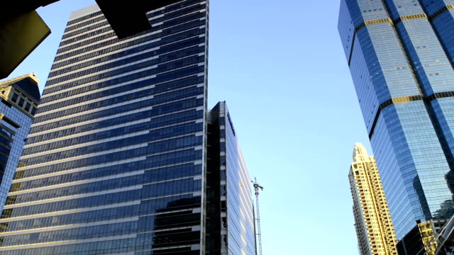 Office Building landscape video