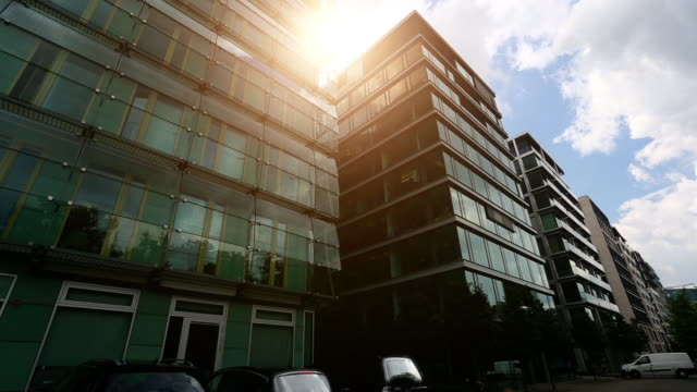 Office building, timelapse Office building, timelapse office park stock videos & royalty-free footage