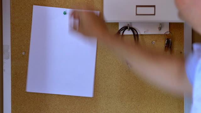 Office Bulletin Board video