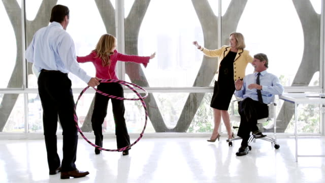 Office Fun Business People video