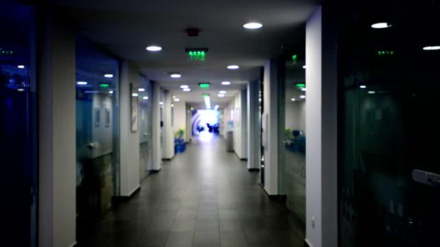 Office hallway video