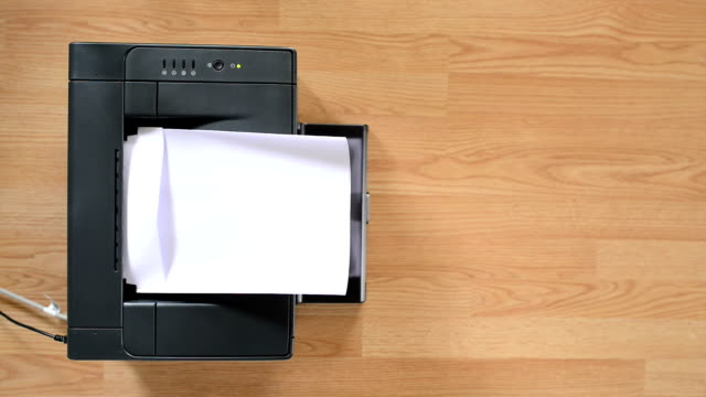 Office laser printer video