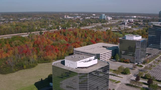 Office Park Southfield Michigan office park stock videos & royalty-free footage
