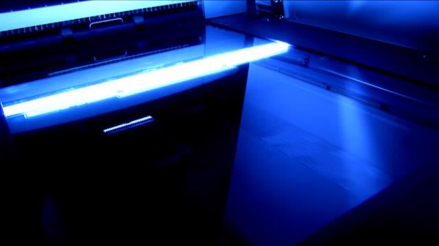vídeos y material grabado en eventos de stock de oficina de barrido de alta definición máquina - escáner plano