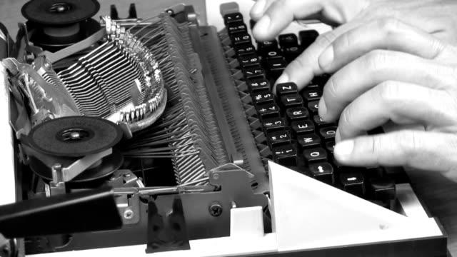 office work office work typewriter stock videos & royalty-free footage