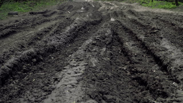 Off-road. Very bad road Off-road. Very bad road mud stock videos & royalty-free footage