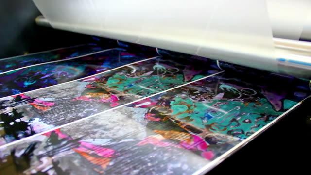 offset machine roll foil laminator video
