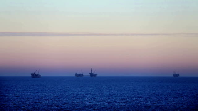 Offshore drilling platforms video