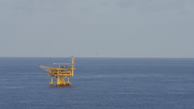 offshore oil platform video
