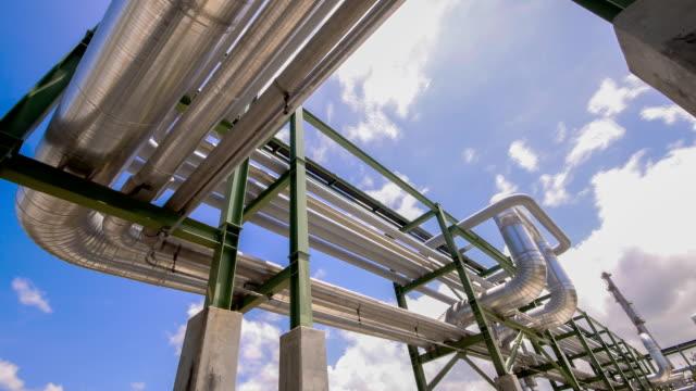 olja och kemiska pipeline - pipeline bildbanksvideor och videomaterial från bakom kulisserna