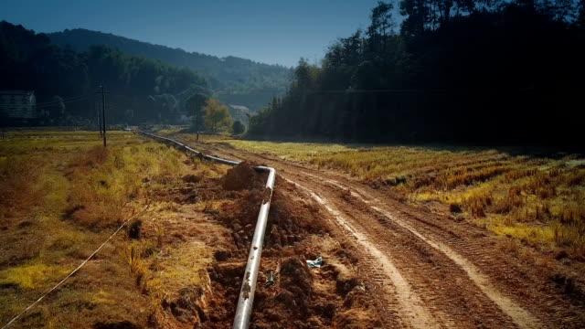 olje- och gasledningen - pipeline bildbanksvideor och videomaterial från bakom kulisserna