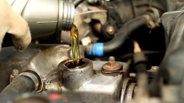 oil change in car video