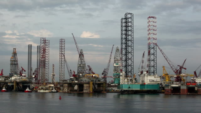 Oil Drill construction video