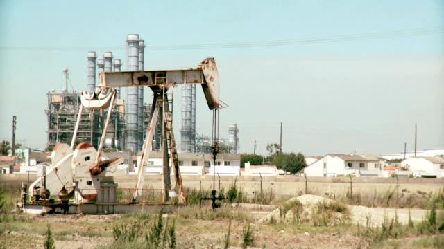 Oil drilling near family homes video