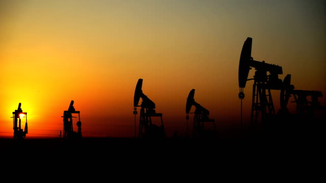 Oil Field Pump Oil Field Industrial equipment power stock videos & royalty-free footage