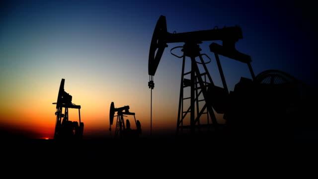 Oil Field video